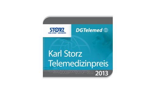 Karl Storz Telemedizinpreis 2013 für TKmed®