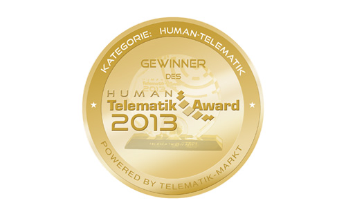 Telematik Award 2013 für TKmed®